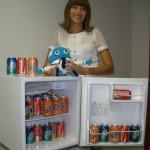 Ольга и холодильник!))))
