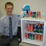 Рома и холодильник!)))